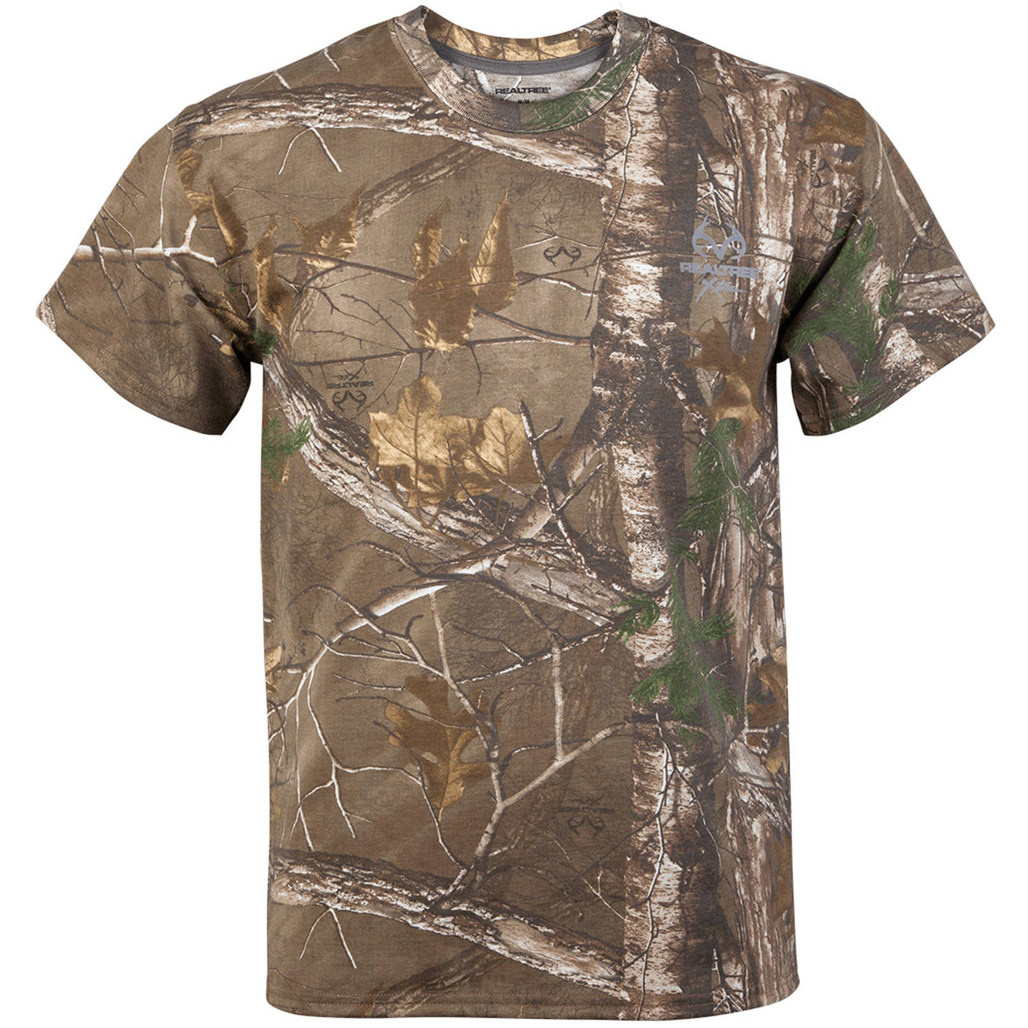 Realtree Men's Camo Short Sleeve Crew Tee