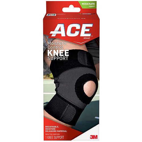 ACE Moisture Control Knee Support, M, 209602
