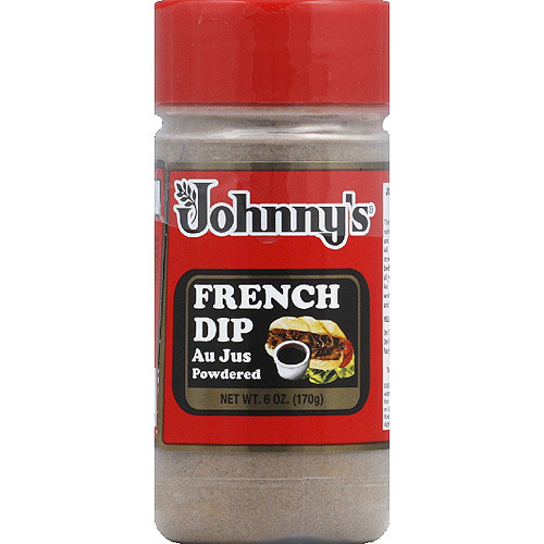 Johnny's French Dip Powdered Au Jus, 6 oz, (Pack of 6)