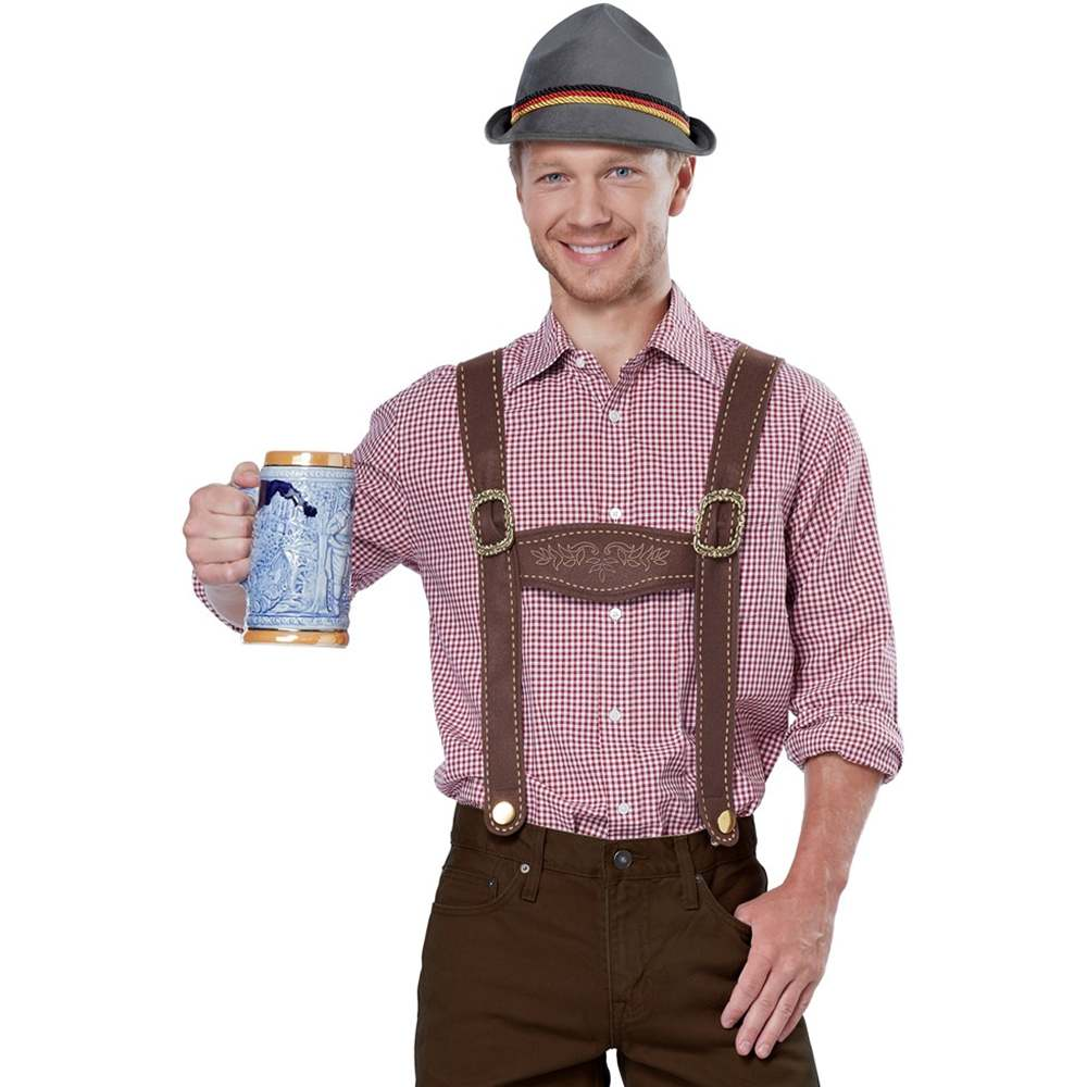 Do-It-Yourself Lederhosen Costume Kit