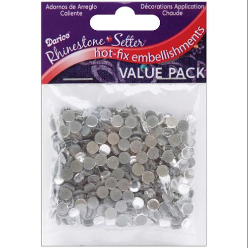 Rhinestone Setter Hot-Fix Embellishments 5mm 400/Pkg-Crystal Glass Stone