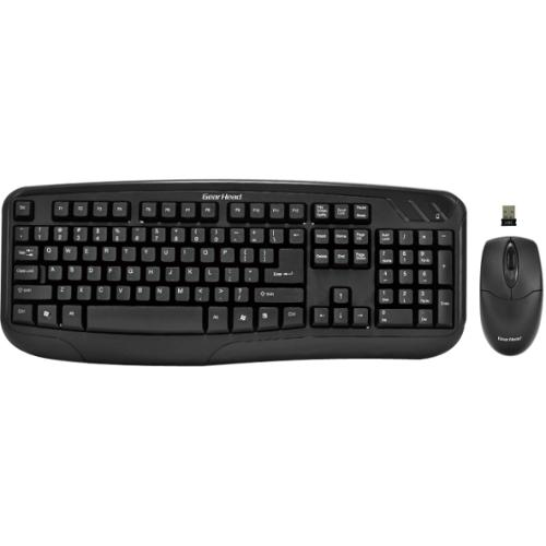 Gear Head KB5150W Wireless Desktop & Optical Mouse Bundle