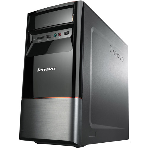 Lenovo Black IdeaH430 Desktop PC with Intel Core i5-3330 Processor, 8GB Memory, 1TB Hard Drive and Windows 8 Operating System (Monitor Not Included)