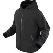 Condor Prime Softshell Hoody Jacket, Black - Medium