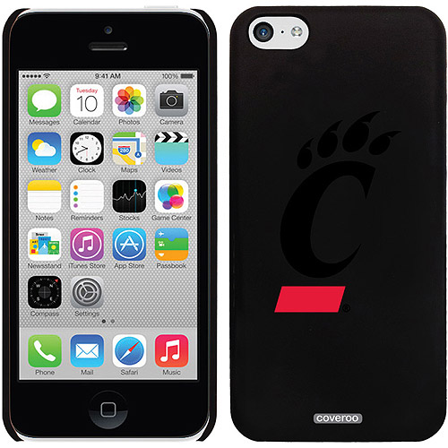 University of Cincinnati C Design on iPhone 5c Thinshield Snap-On Case by Coveroo