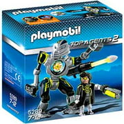 Top Agents 2 Mega Masters Robo Blaster Set Playmobil 5289
