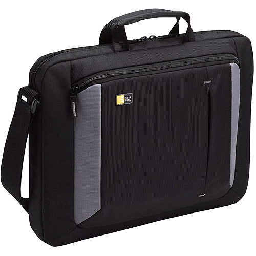 Case Logic VNA-216 Laptop Attache, Fits 16 inch , 16. 25 x 2-8-10 x 13 inch Nylon, Black