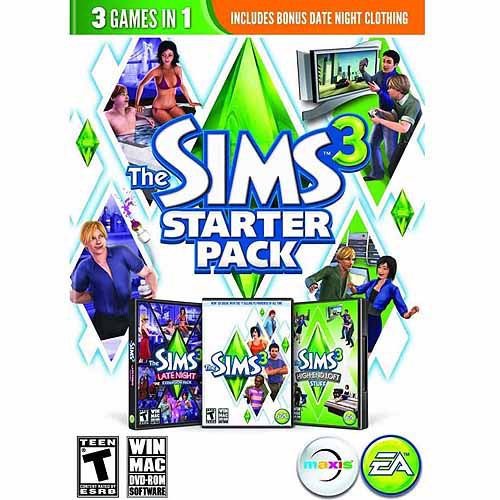 Sims 3 Starter Pack (PC/Mac) (Digital Code)