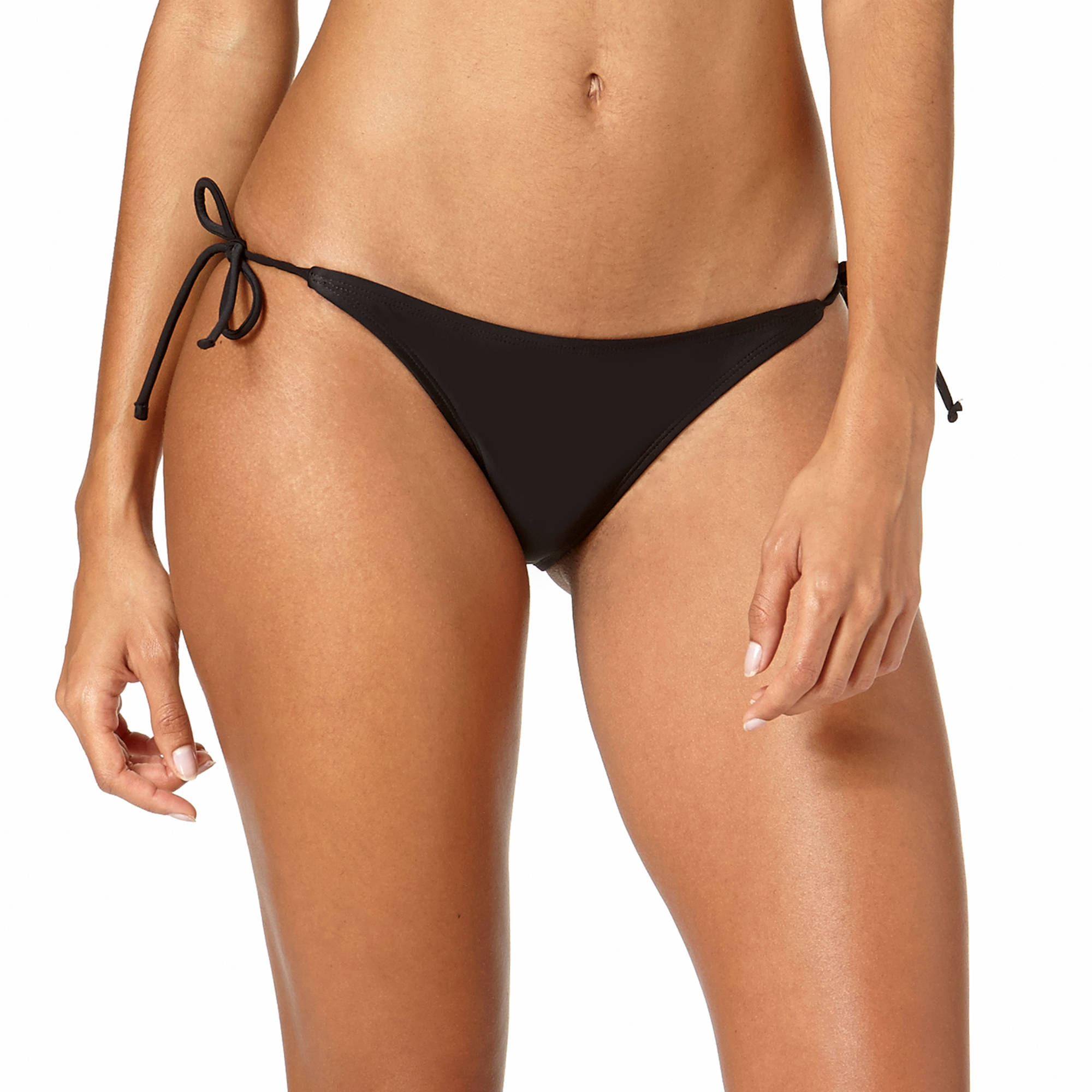 Op Juniors Solid Side Tie Bikini Bottom