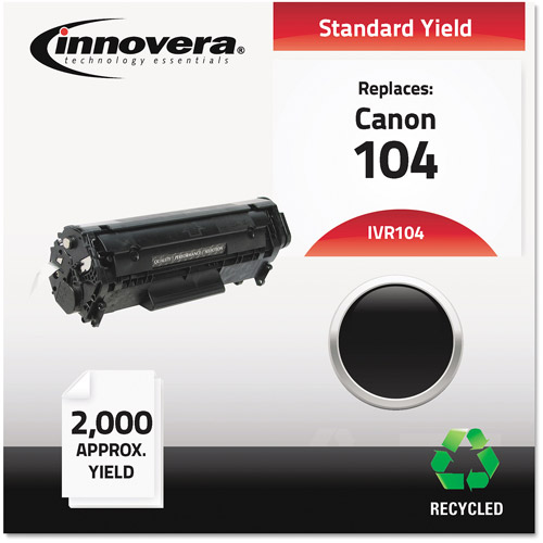 Innovera 104 Compatible Toner, 2000 Page-Yield, Black