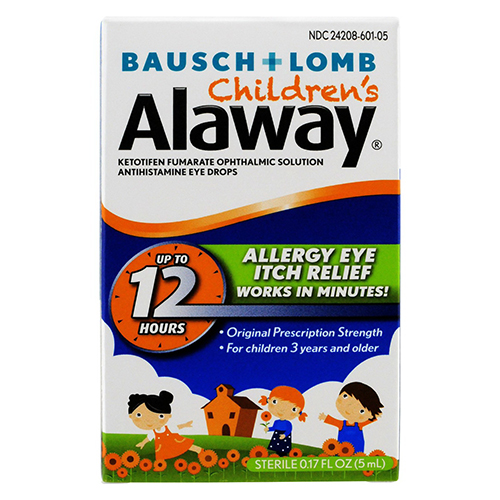 Alaway Childrens Eye Itch Relief Drops - 0.17 Oz