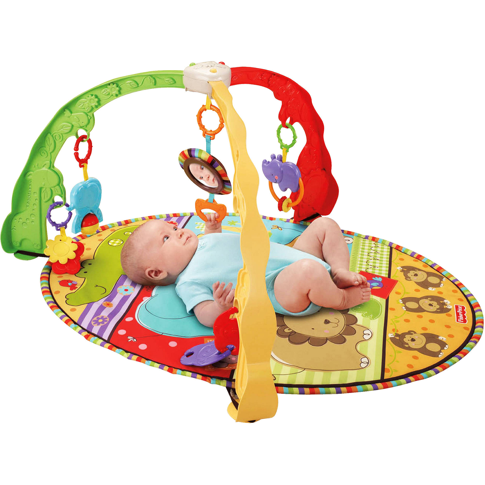 Fisher-Price - Luv U Zoo Musical Mirror Activity Gym
