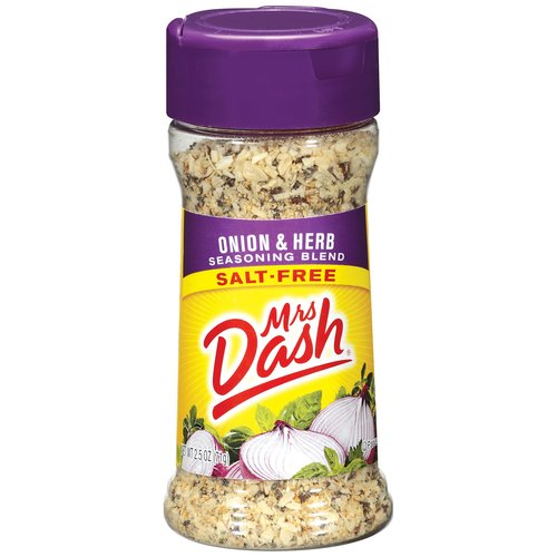 Mrs. Dash Onion & Herb Salt-Free Seasoning Blend, 2.5 oz