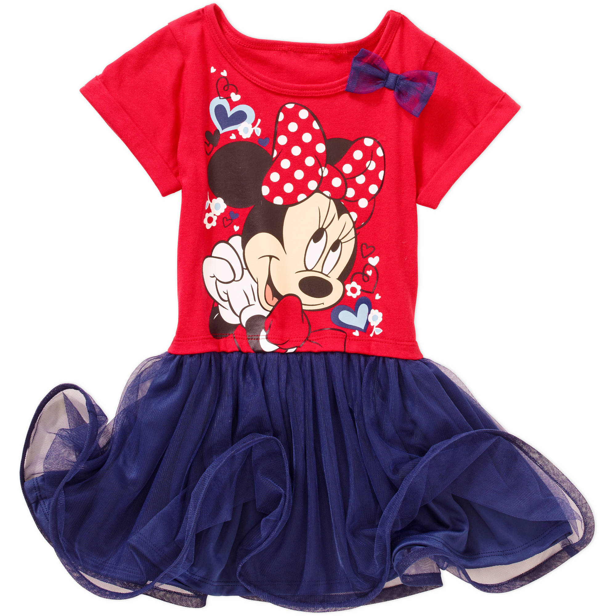 Minnie Mouse Toddler Girl T-Shirt Dress
