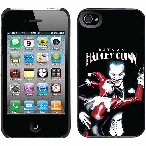 Harley Quinn Design on Apple iPhone 4/4s Thinshield Snap-On Case by Coveroo
