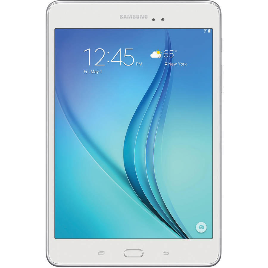 "Samsung SM-T350NZWAXAR Galaxy Tab A with WiFI 8"" Touchscreen Tablet PC Featuring Android 5.0 (Lollipop) Operating System, White"