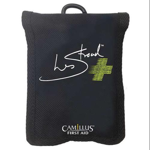 CAMILLUS 90385 First Aid Kit, Portable, Black, Fabric