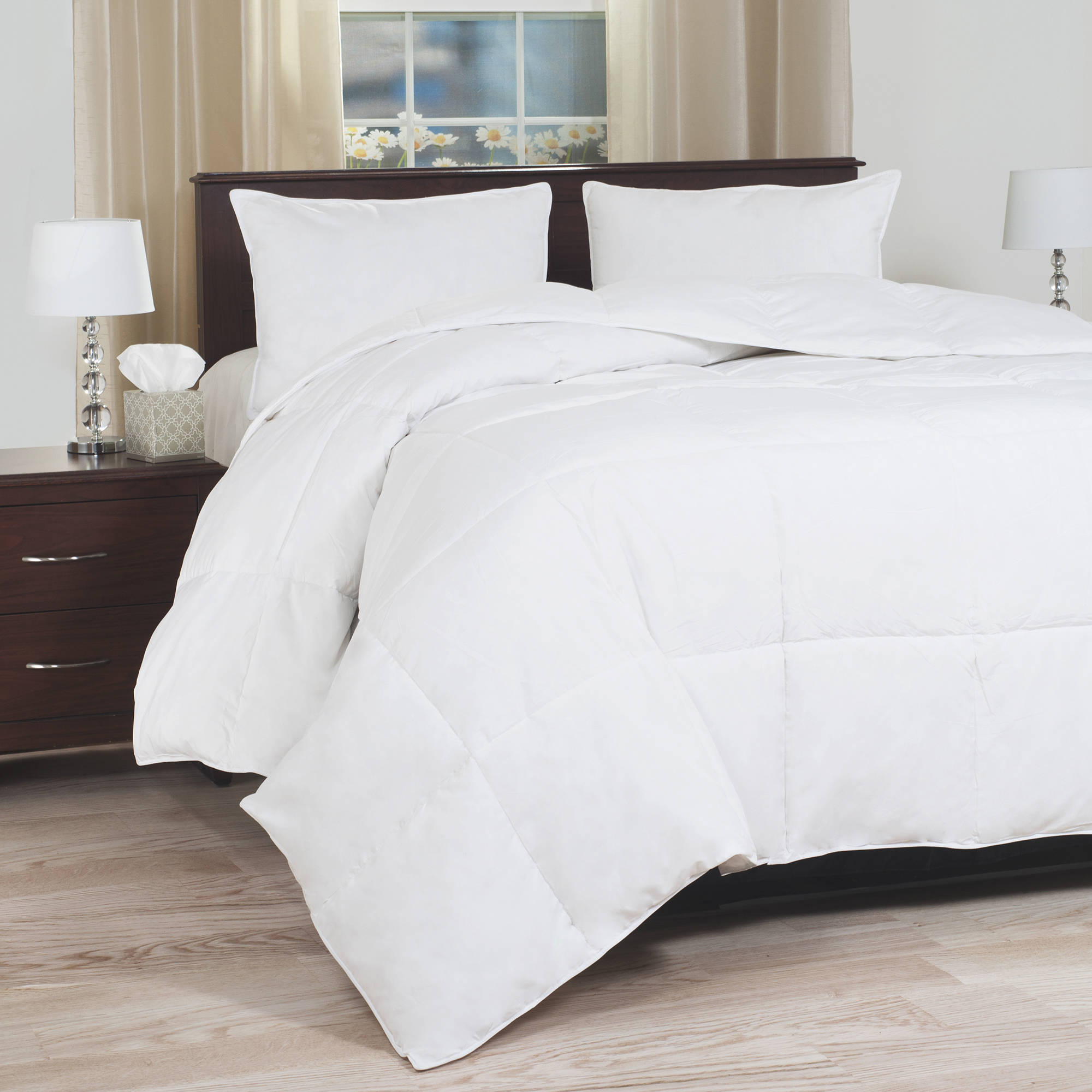 Somerset Home Down Blend Overfilled Bedding Comforter