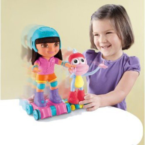 Fisher-Price Skate & Spin Dora and Boots