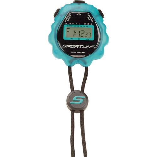Sportline 226 Sport Timer Stopwatch, Blue
