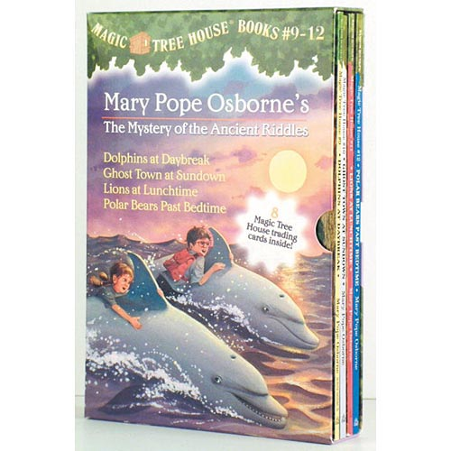 Magic Tree House Collection 3 Books 9-12: Dolphins at Daybreak/Ghost Town at Sundown/Lions at Lunchtime/Polar Bears Past Bedtime