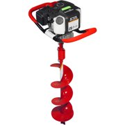 "Earthquake E43 with 8"" Earth Auger, Red"