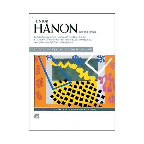 Alfred 00-518 Junior Hanon - Music Book
