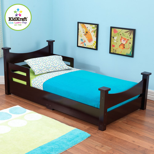 KidKraft Addison Toddler Bed, Espresso