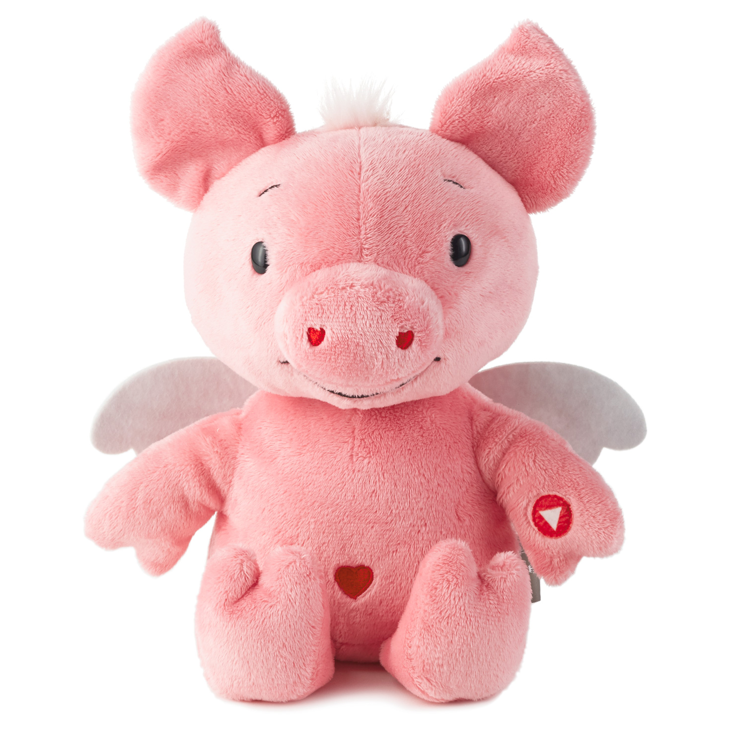 Hallmark Plush Rocking Cupig Techno