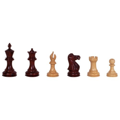 Bud Rosewood Chess Pieces