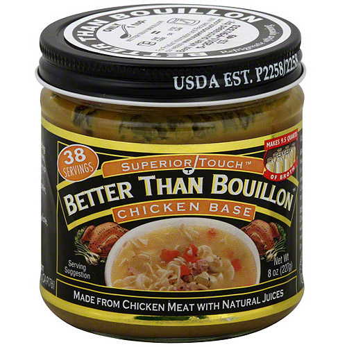 Superior Touch Better Than Bouillon Chicken Base Stock, 8 oz (Pack of 6)