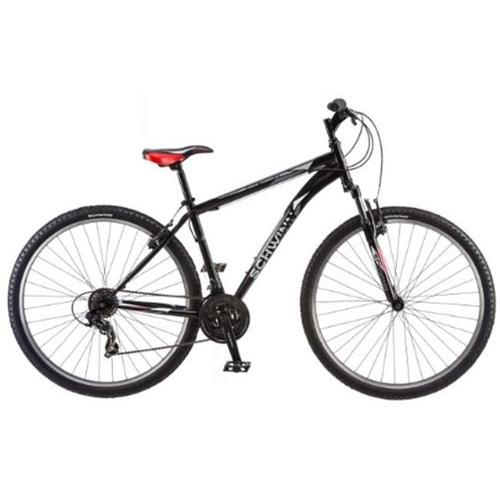 Schwinn S5486A Mens High Timber Mountain Bike, Matte Black - 29 inch