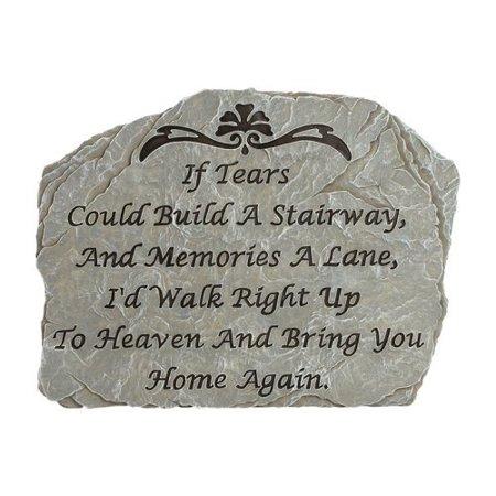 Carson Home Accents Tears - Garden Stone