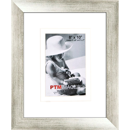 "Silver 8"" x 10"" Photo Frame, Set of 2"