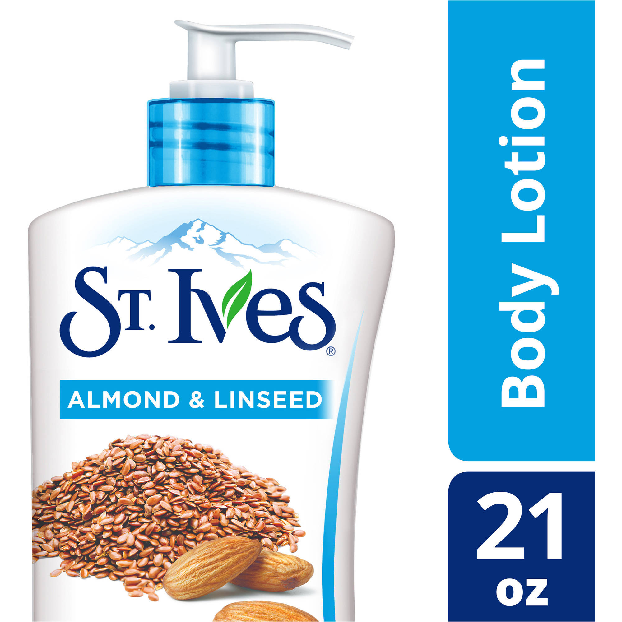 St. Ives 24 Hour Deep Restoring Almond and Linseed Body Lotion, 21 oz