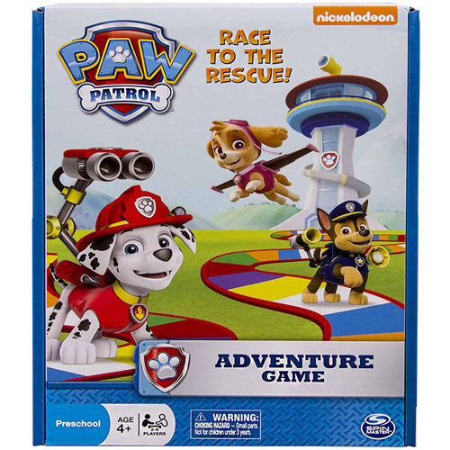 Spin Master Games Nickelodeon Paw Patrol Adventure Board Game