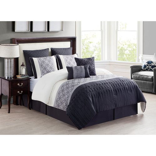 Rihanna 10-Piece Comforter Set, Euro Shams included