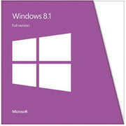 Microsoft Windows 8.1 Full Version 32/64 bit Edition (PC)