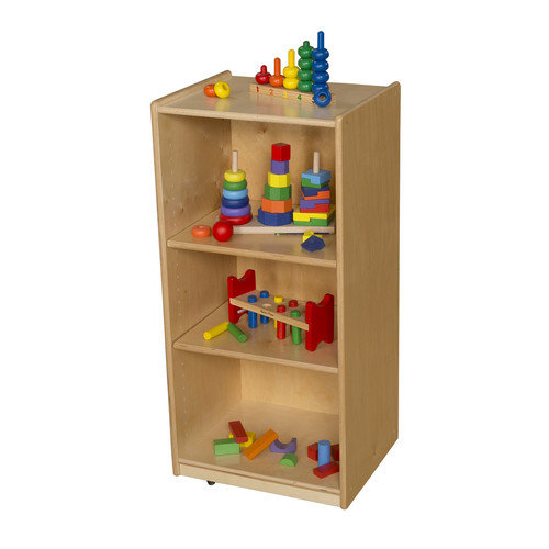 Wood Designs 3 Shelf Unit with Adjustable Shelves