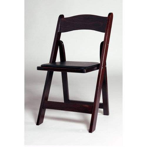Advanced Seating Wood Folding Chair (Set of 4)