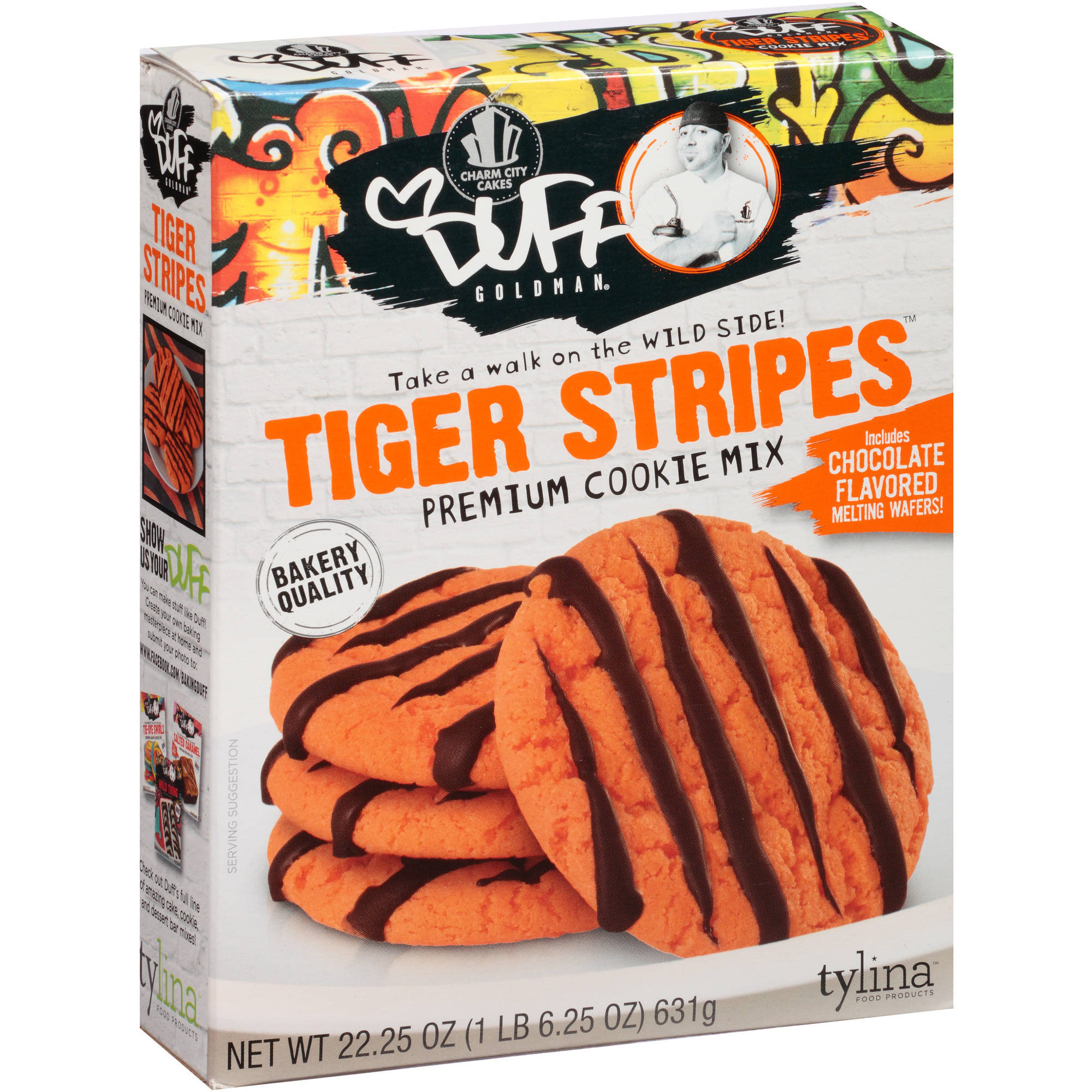Duff Goldman Tiger Stripes Cookie Mix, 22.25 oz