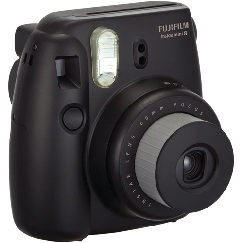 FujiFilm Black 16273403 Instax Mini 8 Camera