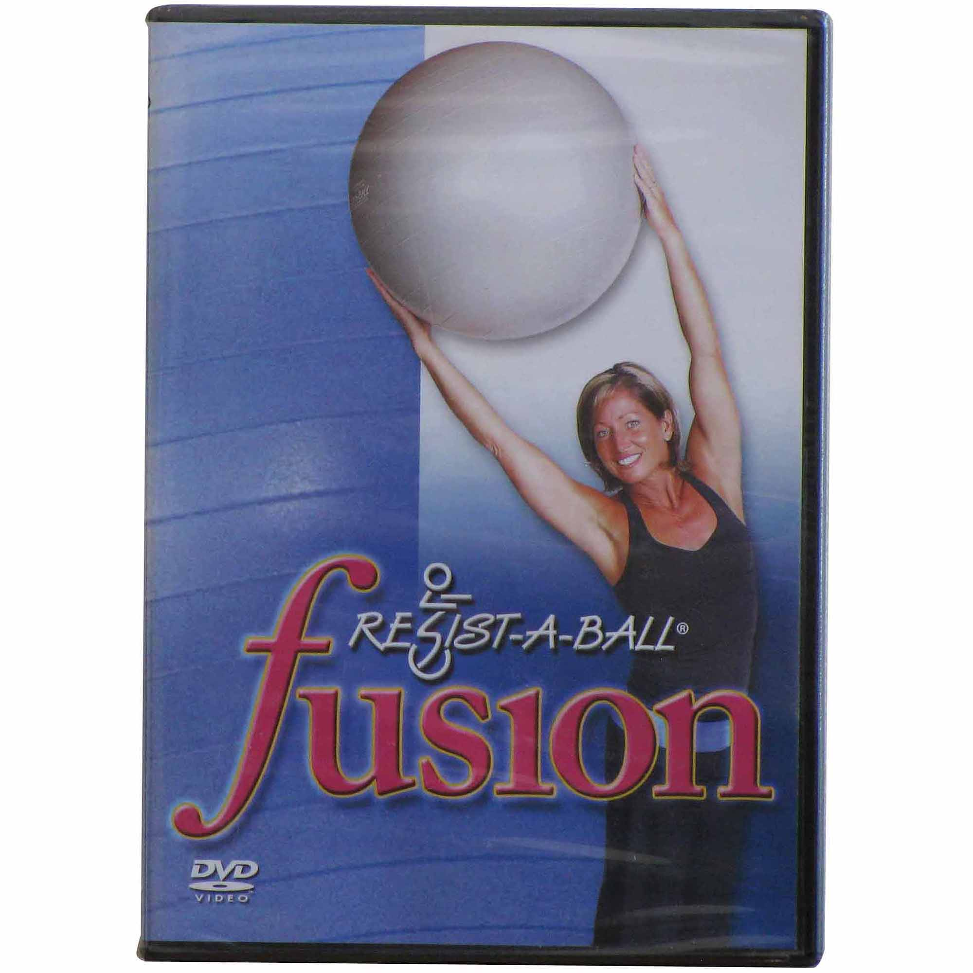 Resist-A-Ball Fusion Stability Ball Workout DVD
