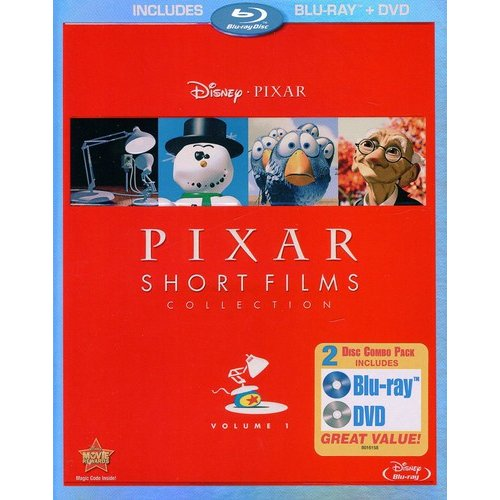 PIXAR SHORT FILMS COLLECTION-V01 (BR/DVD/2 DISC COMBO)
