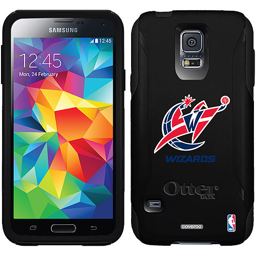 Washington Wizards Primary Logo Design on OtterBox Commuter Series Case for Samsung Galaxy S5