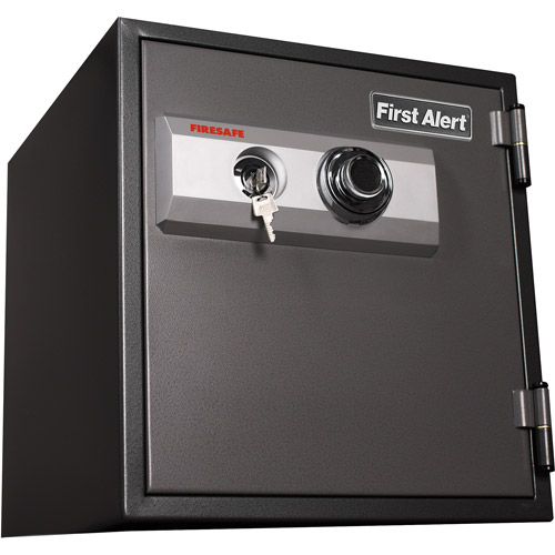 First Alert 2084F 1.2 Cubic Foot Steel Fire/Anti-Theft Combination Safe