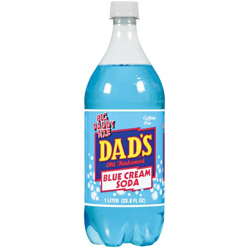 Dad's Blue Cream Soda, 1 l