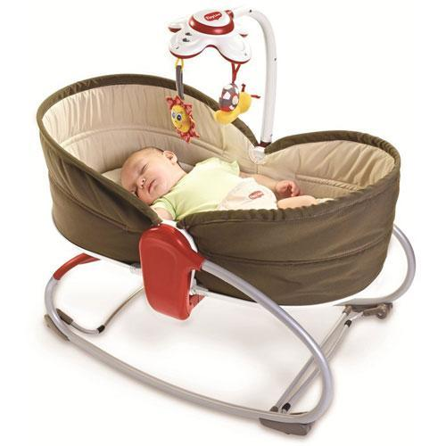 TinyLove by Dorel 3 in 1 Rocker Napper 2 Infant Seat - Chocolate 516-003