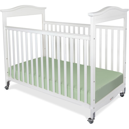Foundations Biltmore Full-Size Clearview Fixed-Side Crib, White