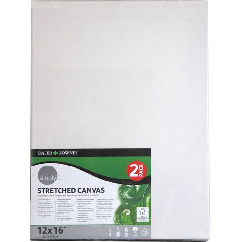 "Simply Stretched 2-Piece 12"" x 16"" Canvas Set"